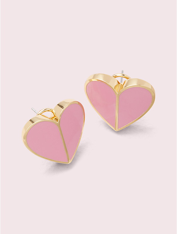 heritage spade heart statement studs, , rr_large