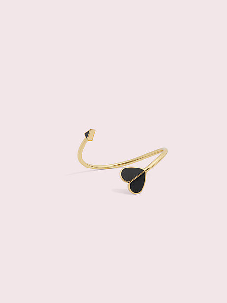 Heritage spade enamel flex cuff | Kate Spade New York