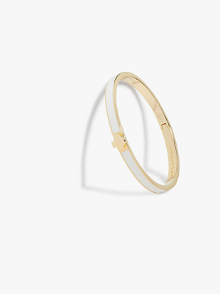 heritage spade thin enamel bangle by kate spade new york non-hover view