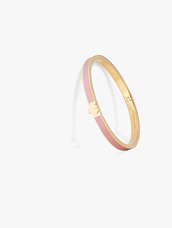heritage spade thin enamel bangle, , rr_large