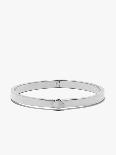 heritage spade thin metal button bangle by kate spade new york