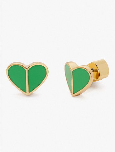heritage spade small heart studs, , rr_productgrid