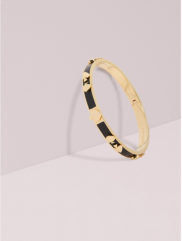 heritage spade enamel multi bangle, , rr_large