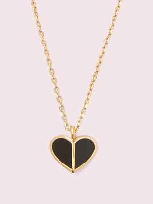 heritage spade enamel heart mini pendant by kate spade new york non-hover view