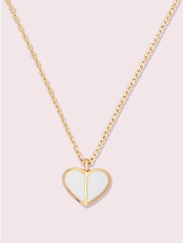 heritage spade enamel heart mini pendant, , rr_productgrid