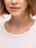 heritage spade enamel heart mini pendant, , s7productThumbnail
