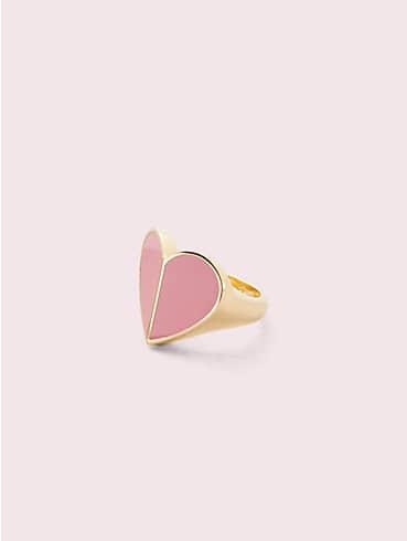 heritage spade enamel heart ring, , rr_productgrid