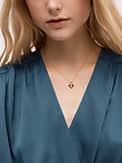 legacy logo spade flower mini pendant, , s7productThumbnail
