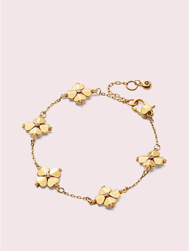 legacy logo spade flower bracelet, , rr_large