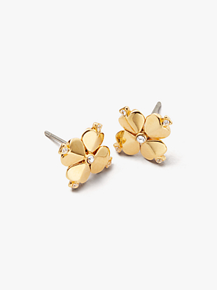 legacy logo spade flower studs by kate spade new york non-hover view