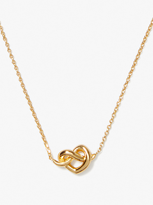 loves me knot mini pendant by kate spade new york non-hover view