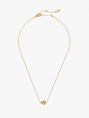 loves me knot mini pendant by kate spade new york hover view
