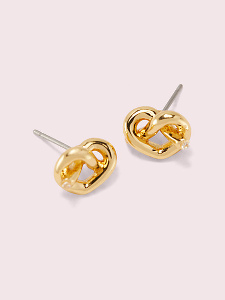 loves me knot studs by kate spade new york