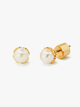 pearlette mini pearl studs by kate spade new york non-hover view