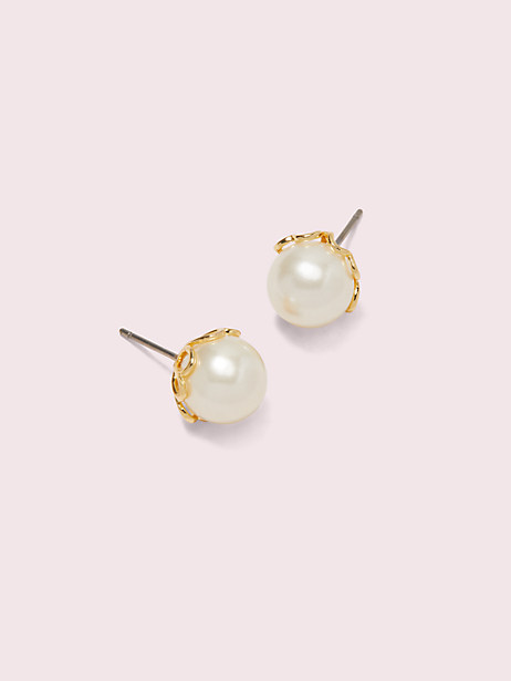 pearlette small studs by kate spade new york