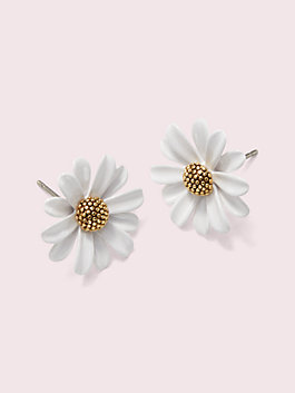 into the bloom studs, white, medium