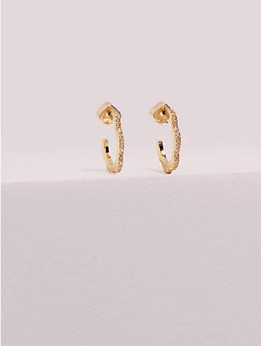 slender scallops mini pavé hoops , , rr_productgrid