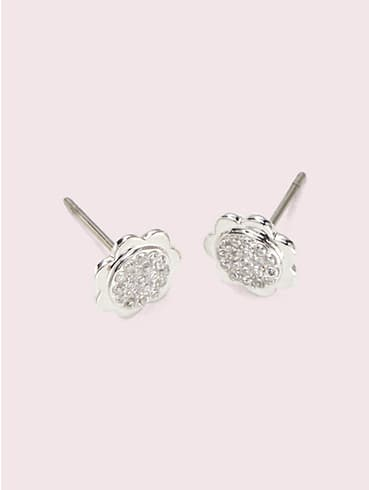 slender scallops pavé round studs , , rr_productgrid