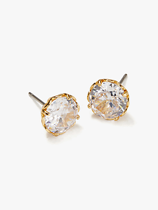 that sparkle round earrings by kate spade new york non-hover view
