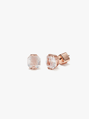 that sparkle princess cut studs by kate spade new york non-hover view