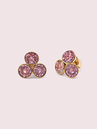 reflecting pool small cluster studs by kate spade new york non-hover view