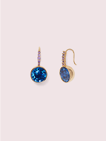 reflecting pool pavé round drop earrings, , rr_productgrid