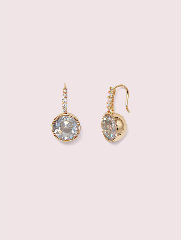reflecting pool pavé round drop earrings, , rr_large