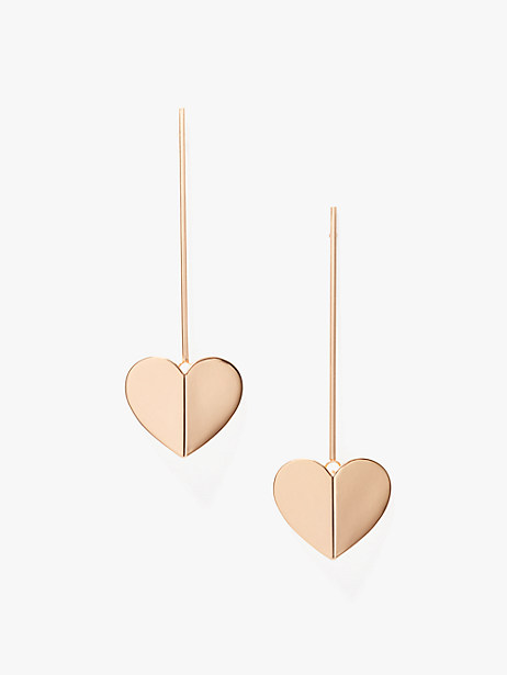 heritage spade linear earrings by kate spade new york
