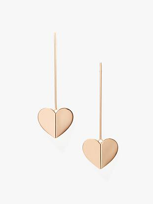 heritage spade linear earrings by kate spade new york non-hover view