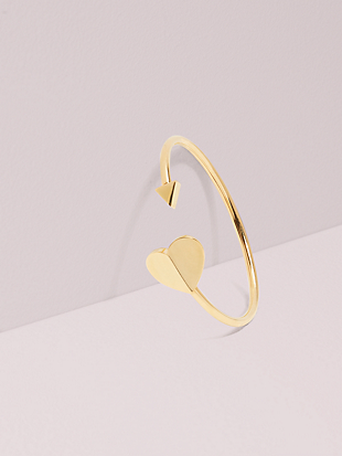 heritage metal spade flex cuff by kate spade new york non-hover view