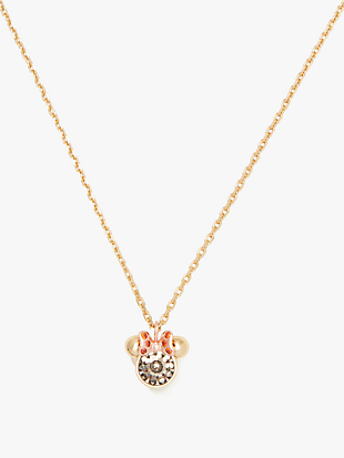 kate spade new york x minnie mouse stone pendant by kate spade new york non-hover view