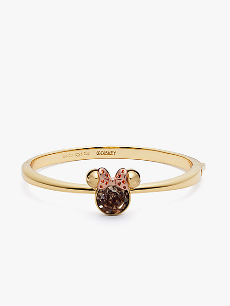 minnie mouse stone hinged bangle by kate spade new york