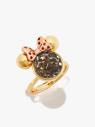 minnie mouse stone ring by kate spade new york non-hover view