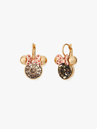 kate spade new york x minnie mouse stone leverbacks by kate spade new york non-hover view