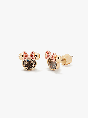 kate spade new york for minnie mouse stone studs by kate spade new york non-hover view