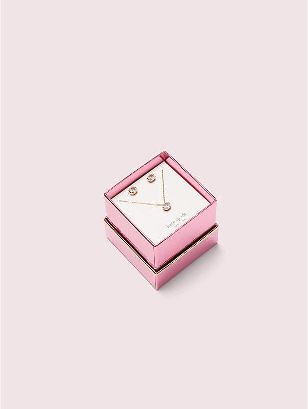 princess studs and pendant set, , rr_large