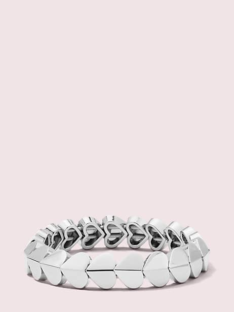 heritage spade heart stretch bracelet by kate spade new york