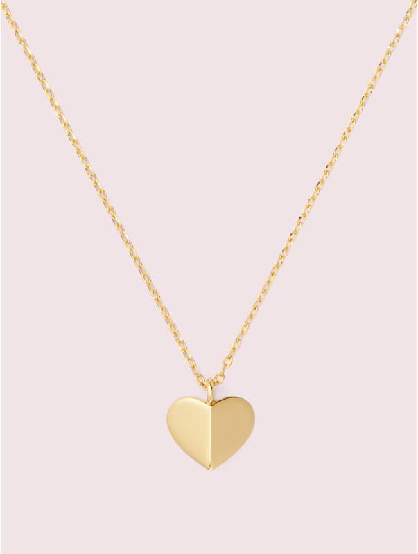 heritage spade heart mini pendant, , rr_large