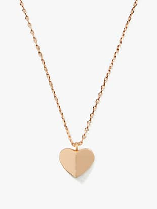 heritage spade heart mini pendant by kate spade new york non-hover view