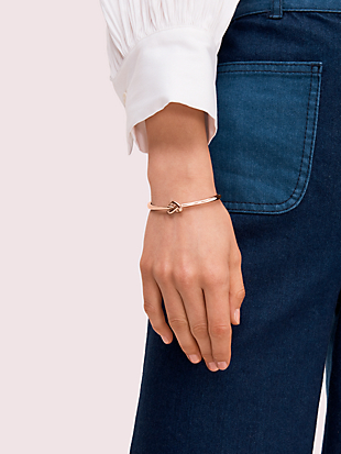 loves me knot bangle by kate spade new york hover view