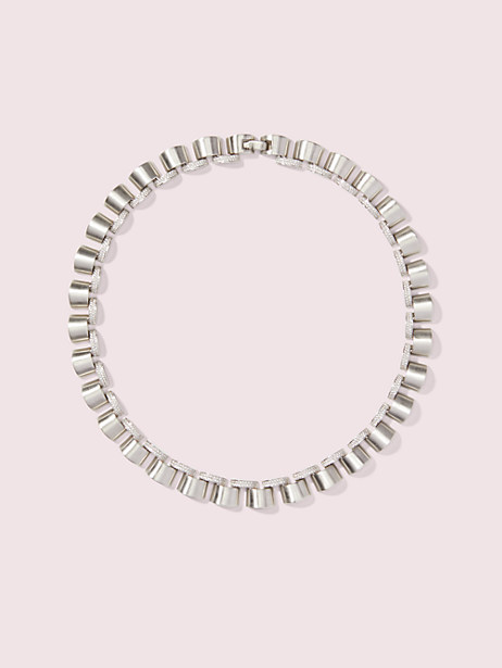 art deco pavé necklace by kate spade new york
