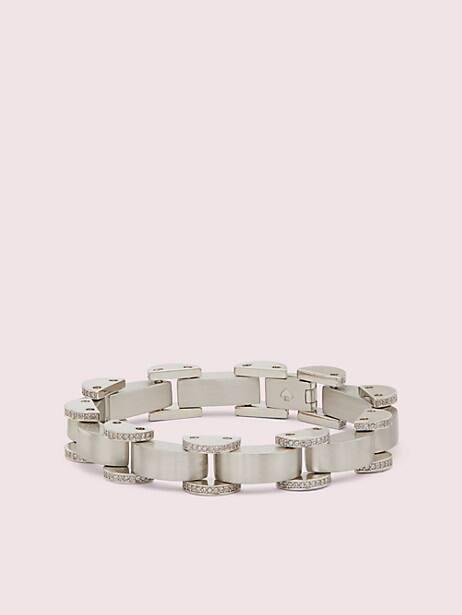 art deco pavé bracelet by kate spade new york