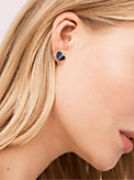 heart to heart pavé small heart studs, , s7productThumbnail