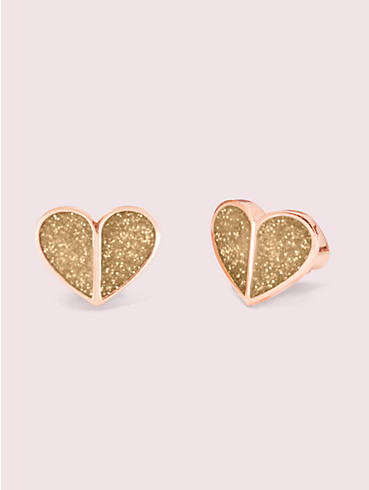 heart to heart pavé small heart studs, , rr_productgrid