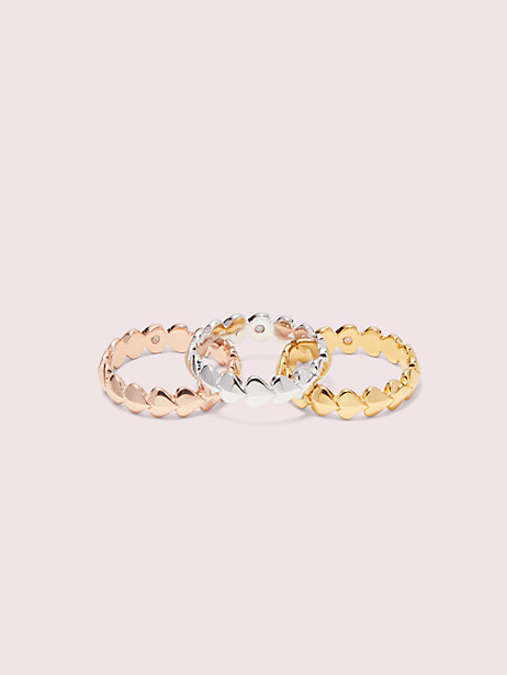 heritage spade heart ring set by kate spade new york