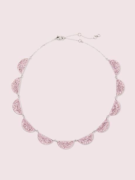 mod scallop pavé necklace by kate spade new york