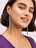 modern pearls linear earrings, , s7productThumbnail