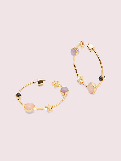 on the rocks hoops by kate spade new york