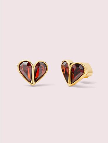 rock solid stone small heart studs, , rr_productgrid