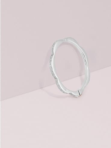 sliced scallops pavé hinged bangle, , rr_productgrid